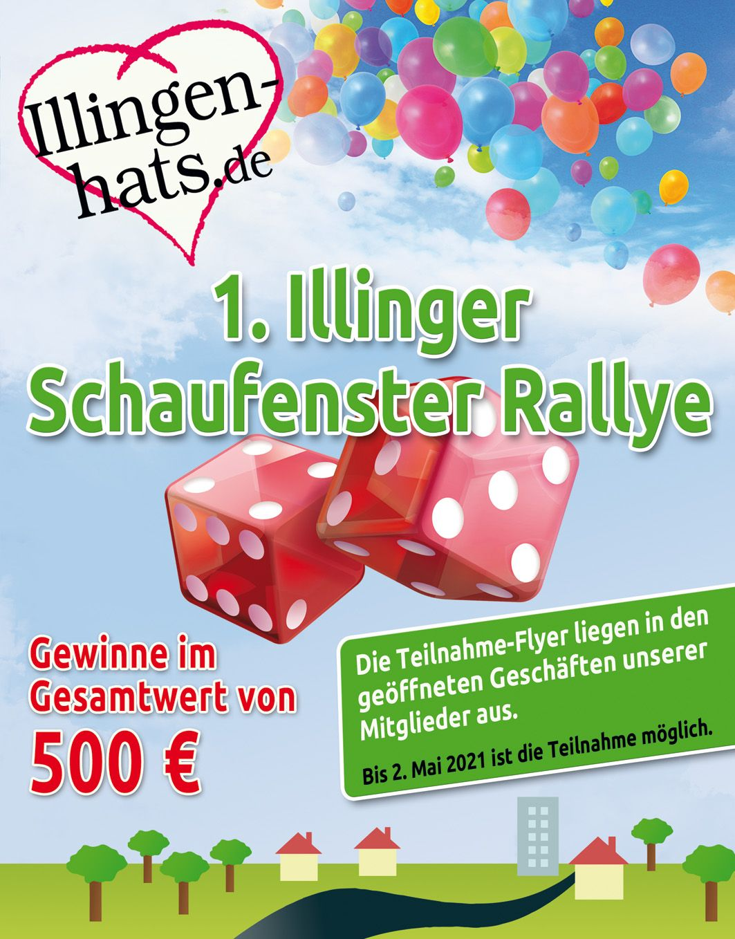 Illingen Schaufenster Rallye